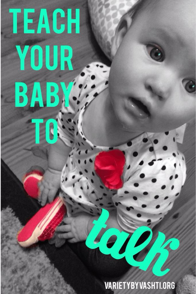 Teach Your Baby How To Talk as Early as Six Months