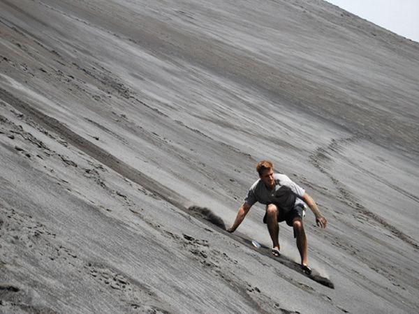 Volcano Sand Boarding.