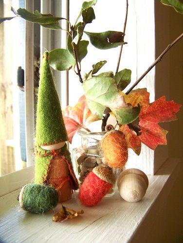 sweet autumn display
