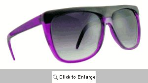 Cruiser Straight Bridge Sunglasses - 242 Purple