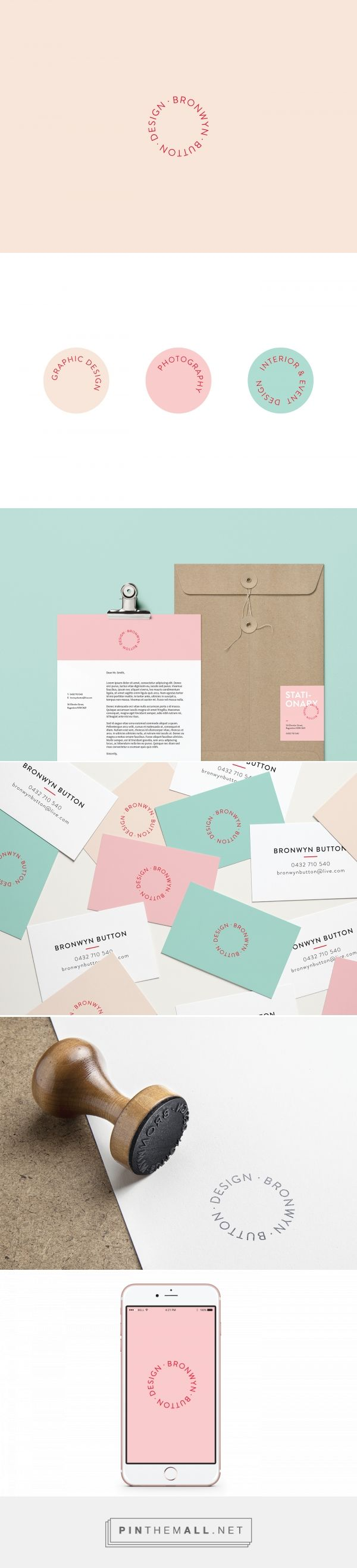 Bronwyn Button Personal Branding | Fivestar Branding Agency – Design and Branding Agency & Curated Inspiration Gallery