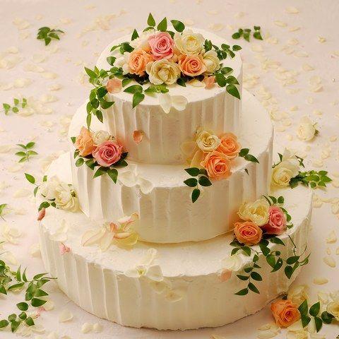 日比谷パレス|結婚式場写真「オリジナルウェディングケーキ�A」 【みんなのウェディング】