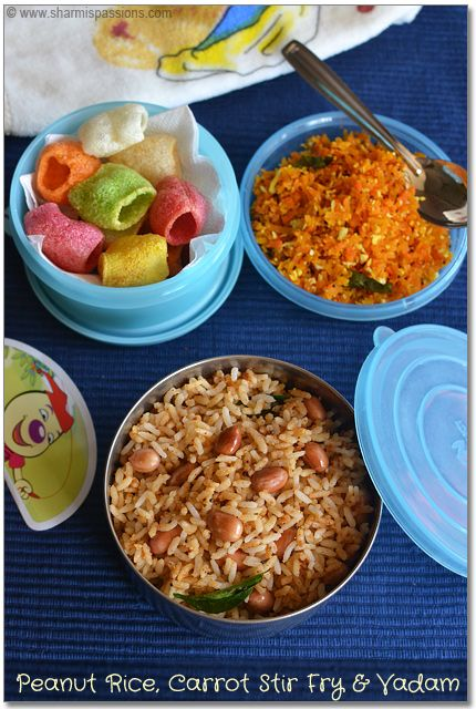 22 best kids lunch box images on pinterest lunch box recipes kids lunch box recipes idea8 peanut rice carrot stir fry and vadam forumfinder Gallery