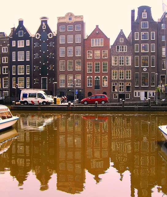 I've never been here, so it is a must at some point:  amsterdam....