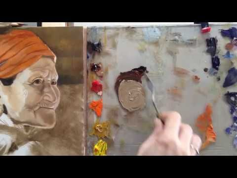 How to mix a fleshtone with Oil Paint