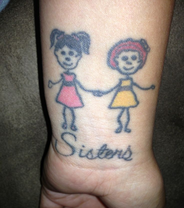 16 best what were they thinking i mean really images for Funny sister tattoos