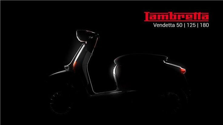 Lambretta ressuscita - L70 Vendetta é o novo modelo anunciado que será apresentado daqui a um mês.  Depois de todas as questões legais parecerem resolvidas, o Lambretta Consortium encomendou à conceituada casa de design Kiska, o trabalho de criação do modelo comemorativo do 70º aniversário da marca fundada por Ferdinando Innocenti.