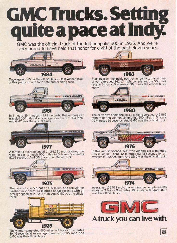 1984 GMC trucks