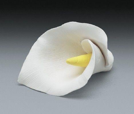 10ct Calla Lily Gum Paste Flower Singles by AllAmericanElegance