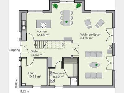 Grundriss haus modern mit erker  37 besten Haus Mit Erker Bilder auf Pinterest | Architektur ...