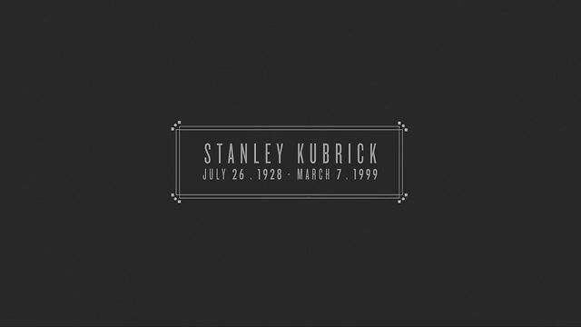 STANLEY KUBRICK A FILMOGRAPHY by Deadly Puppies. Stanley Kubrick's July 26, 1928 – March 7, 1999.