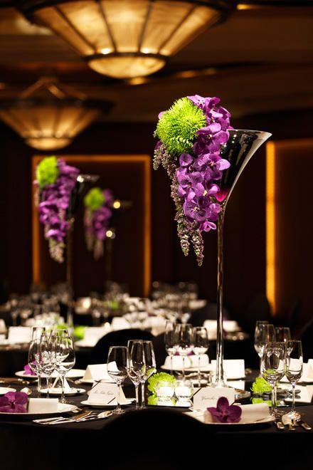和装、洋装にも合う大人な空間に *スタイリッシュでセンスのいい会場装花*