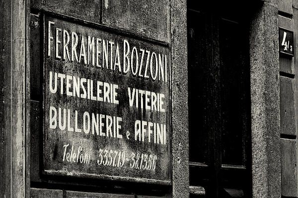 One Italian business which has survived the crisis. Photograph by Alex Roe #photo on Pinterest too