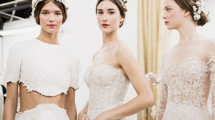 Wedding Dress Trends from Fall 2015 Bridal Fashion Week