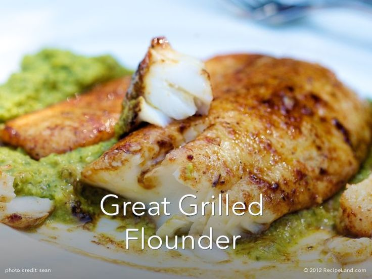Grilled flounder fillet recipes for How to cook buffalo fish