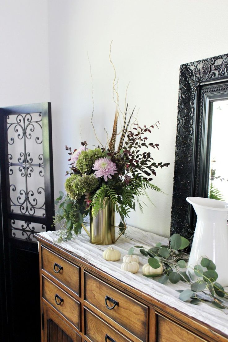 9 best Fall Home Tours images on Pinterest   Country home decorating ...