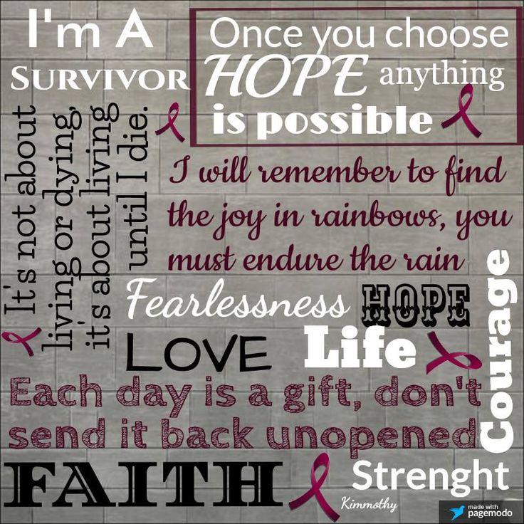 Brain Aneurysm Survivor: love - life - hope - faith - courage....