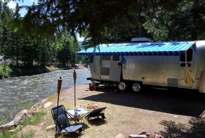 Priest Gulch Campground Next To The Dolores River In
