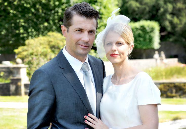 """Miriam Lahnstein und Wolfram Grandezka bei der """"Verbotene Liebe""""-Hochzeit © ARD/Anja Glitsch"""