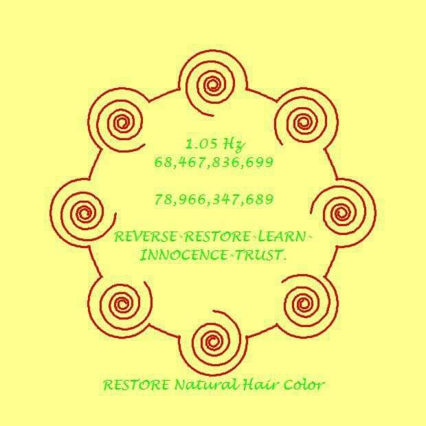Restore ur natural hair color from grey