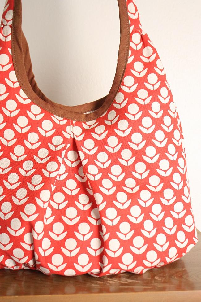 Noodlehead: stamped runaround bag