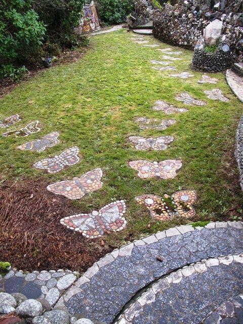 Butterfly Steps Landscaping Ideas Pinterest