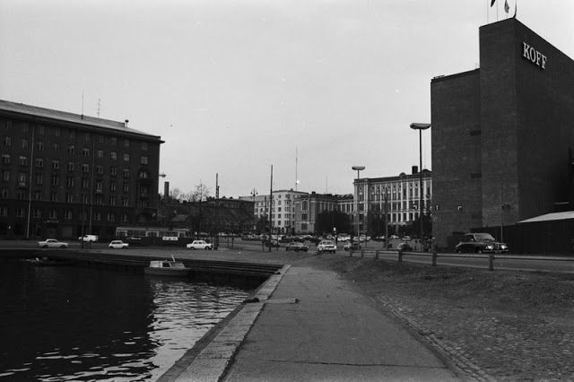 The Sinebrychoff brewing factory in Hietalahti, 1970.