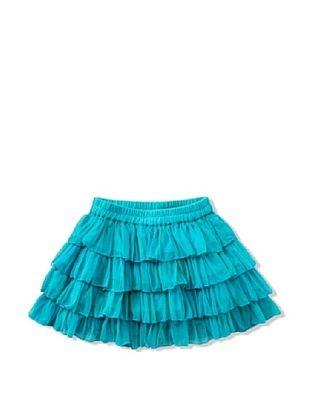 72% OFF Room Seven Girl's Silly Net Skirt (Green)