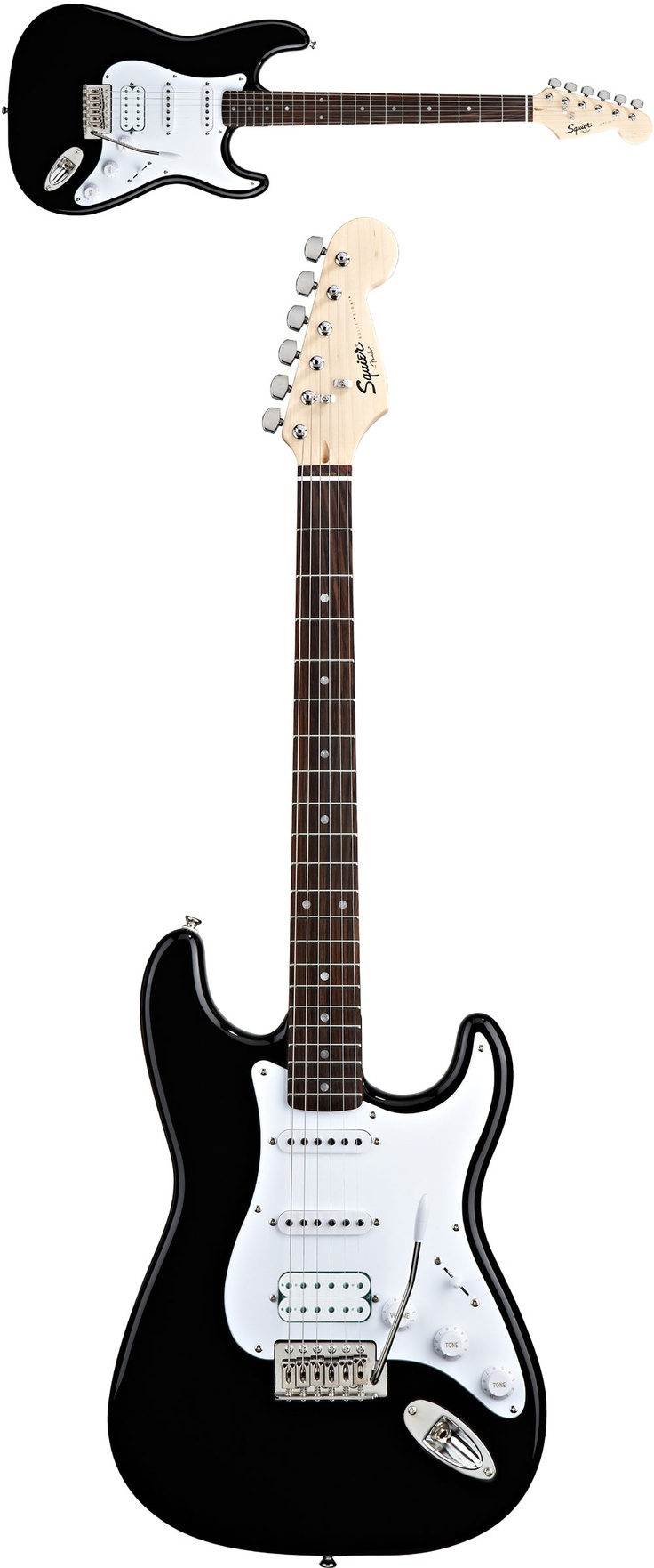 Fender Squire Bullet, for the times I wanna be 14 and in a garage band again...