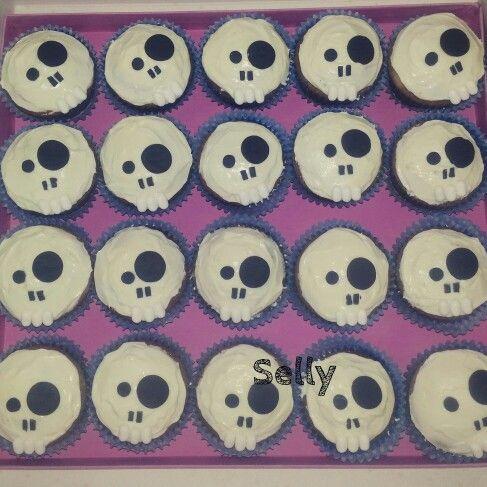 Cupcakes teschio