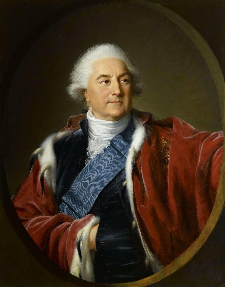 Portrait of Stanislaus Augustus Poniatowski by Louise Élisabeth Vigée Le Brun, 1797 (PD-art/old), Château de Versailles