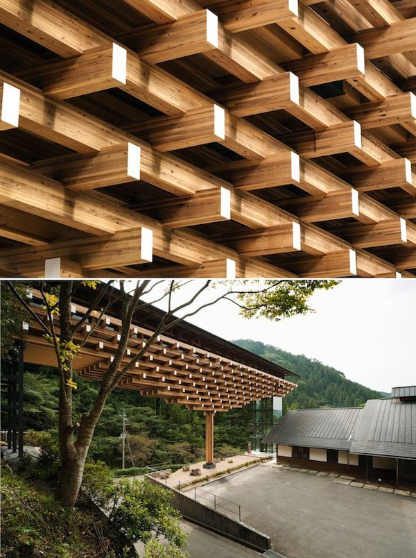 A Japanese Bridge, Both Expressive and Sustainable