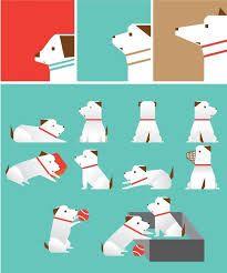 강아지 일러스트 - Google 검색