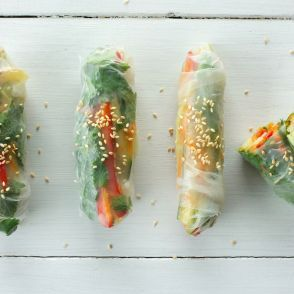 Vegetable Spring Rolls by Jessica Seinfeld