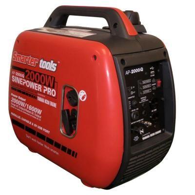 AP-2000iQ 1600/2000-Watt Gasoline Powered Parallel Capable Portable Inverter Generator with Yamaha Engine