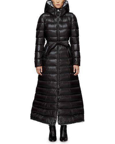 18ec12a37e680 TXVH5 Mackage Calina Long Puffer Coat w/ Belt Puffer Jackets, Puffer Vest,  Down