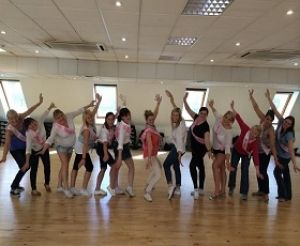 #Dirty dancing hen party with The Cheerleading Company in #Edinburgh
