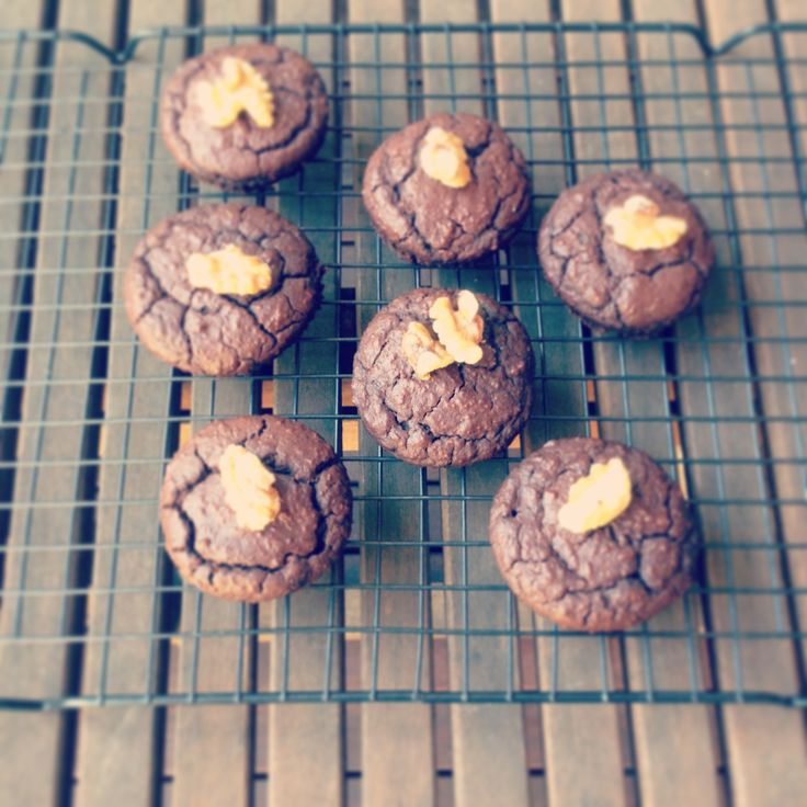 Homemade raw cacao muffins! Recipe on my instagram page @gw_healthyhabits