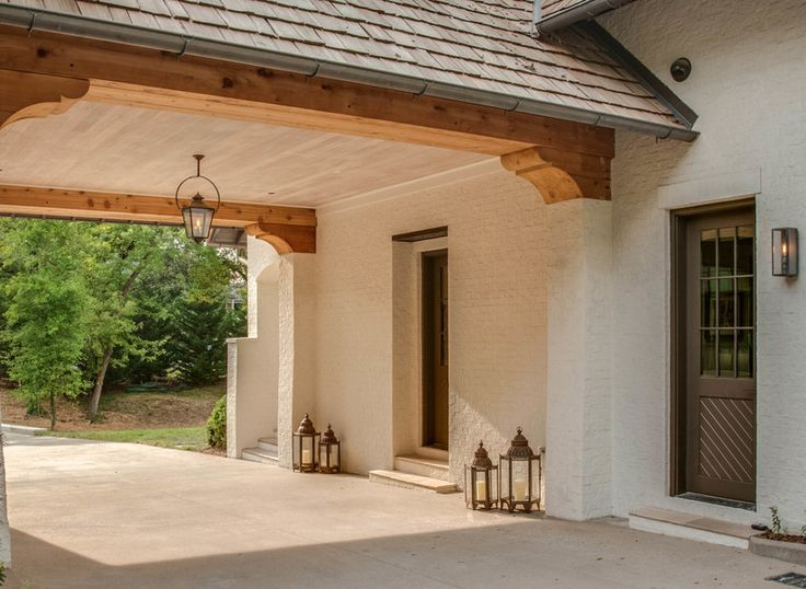 21 best images about porte cochere on pinterest peter o for Cottage house plans with porte cochere