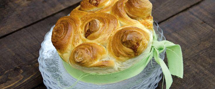 Torta delle rose farcita con pancetta alle erbe e Taleggio D.O.P. - antipasto http://www.taleggio.it/eu-it/torta-delle-rose-farcita-con-pancetta-alle-erbe-e-taleggio-dop.aspx