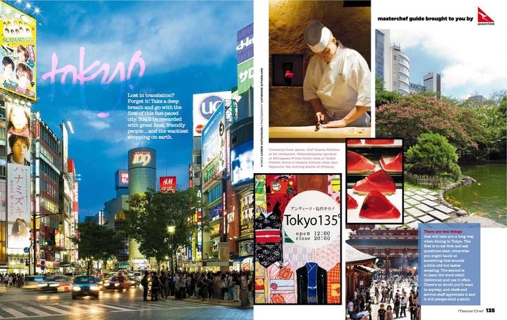Masterchef Mag Tokyo story w Carrie Hutchinson