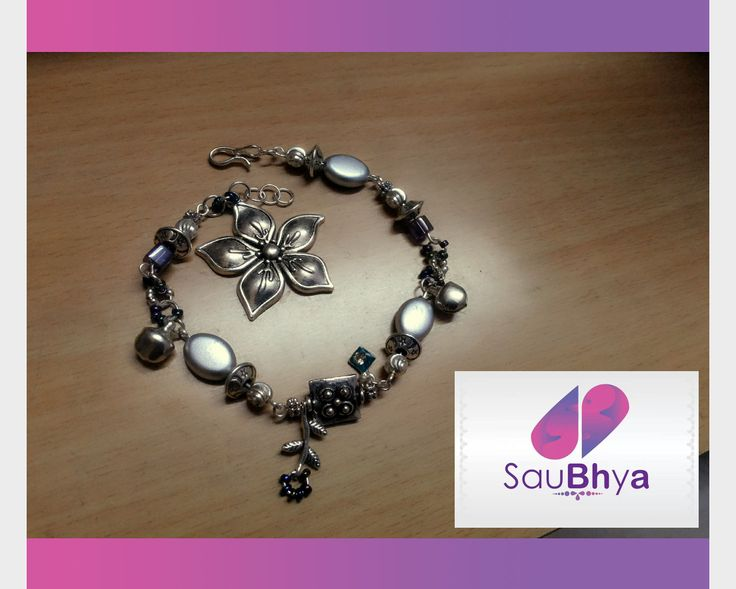 First official order for Saubhya. A bracelet with charms brought about a lot of charm in dealing with this first order.