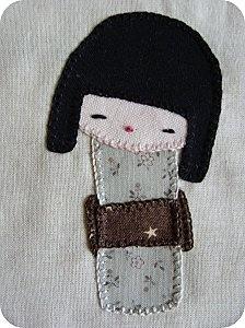 Kokeshi Doll Patchwork