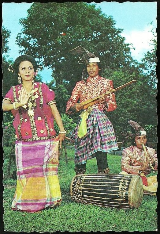 1970s Sulawesi Indonesia Music & Dance