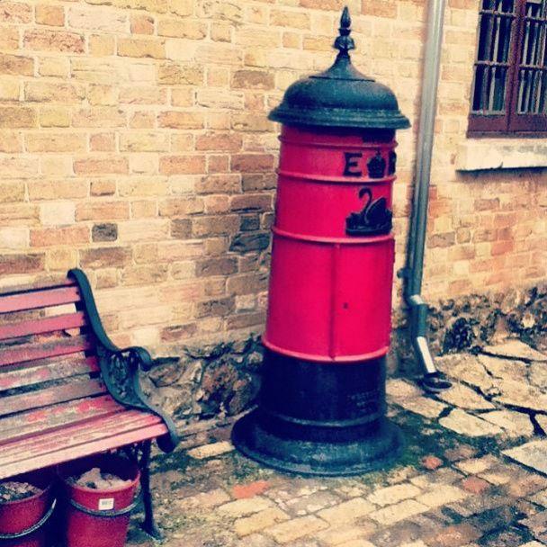 Post box at Old Albany Gaol WA