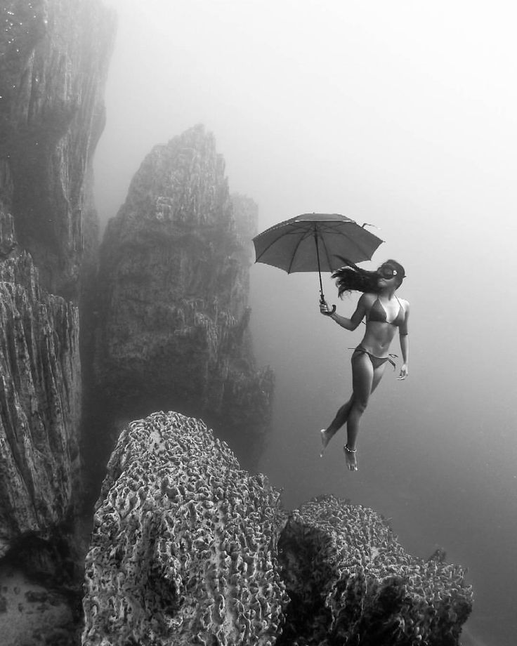 Best Underwater Photography Images On Pinterest Landscapes - Amazing black white underwater photography
