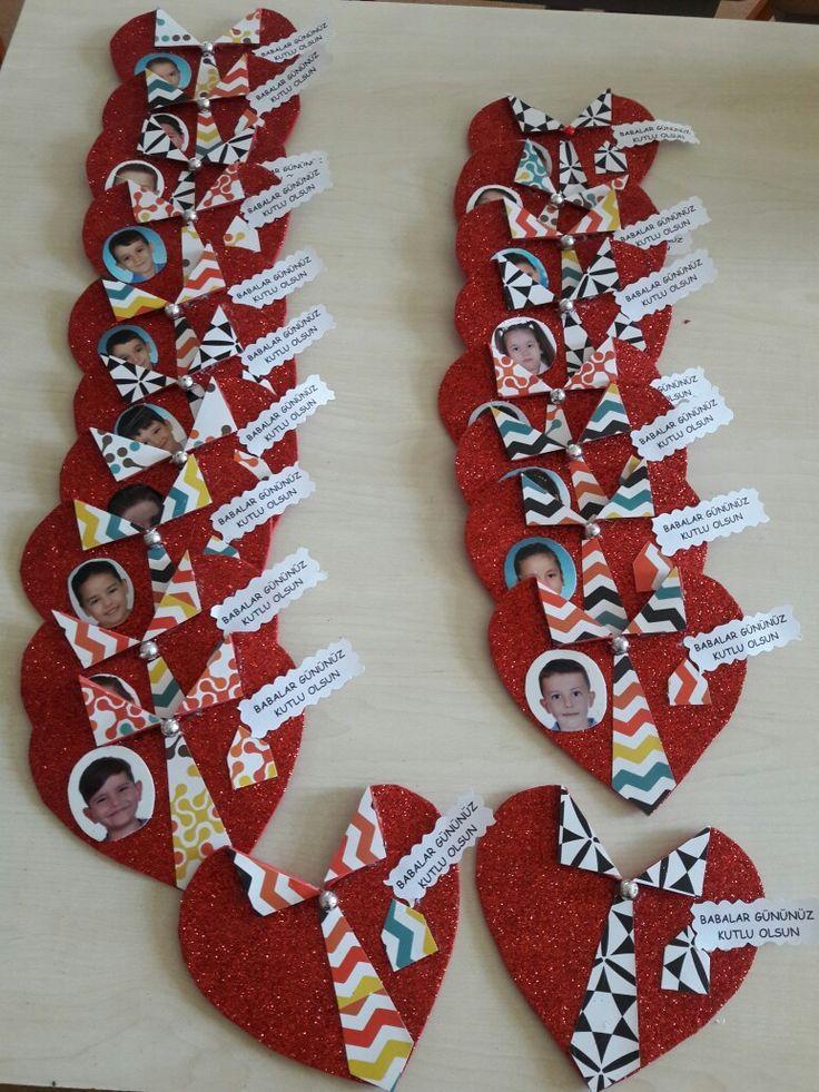 Babalara özel Babalara özel Día De San Valentín Manualidades Manualidades De San Valentín Para Niños Artesanía De San Valentín