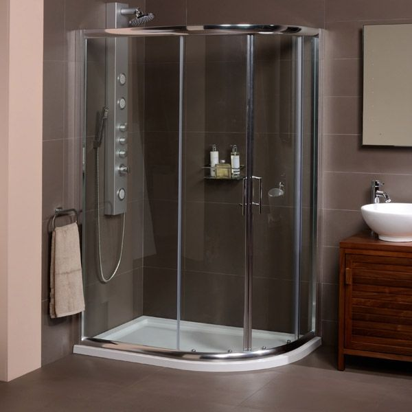 The AquaFloe 900 X 760 Shower Cubicle, Priced At £179.95. A 900 X