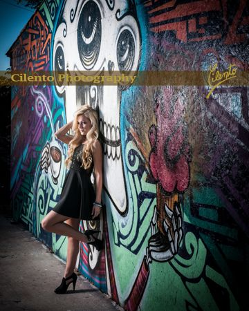 Urban areas offer all kinds of options for unique outdoor photography. Architectural elements, wall murals and iconic buildings can all lend themselves to great senior portraits.