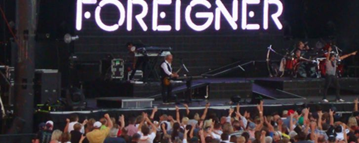 1993 Foreigner - koncert na stadionie St. Augustine College Lima, Peru